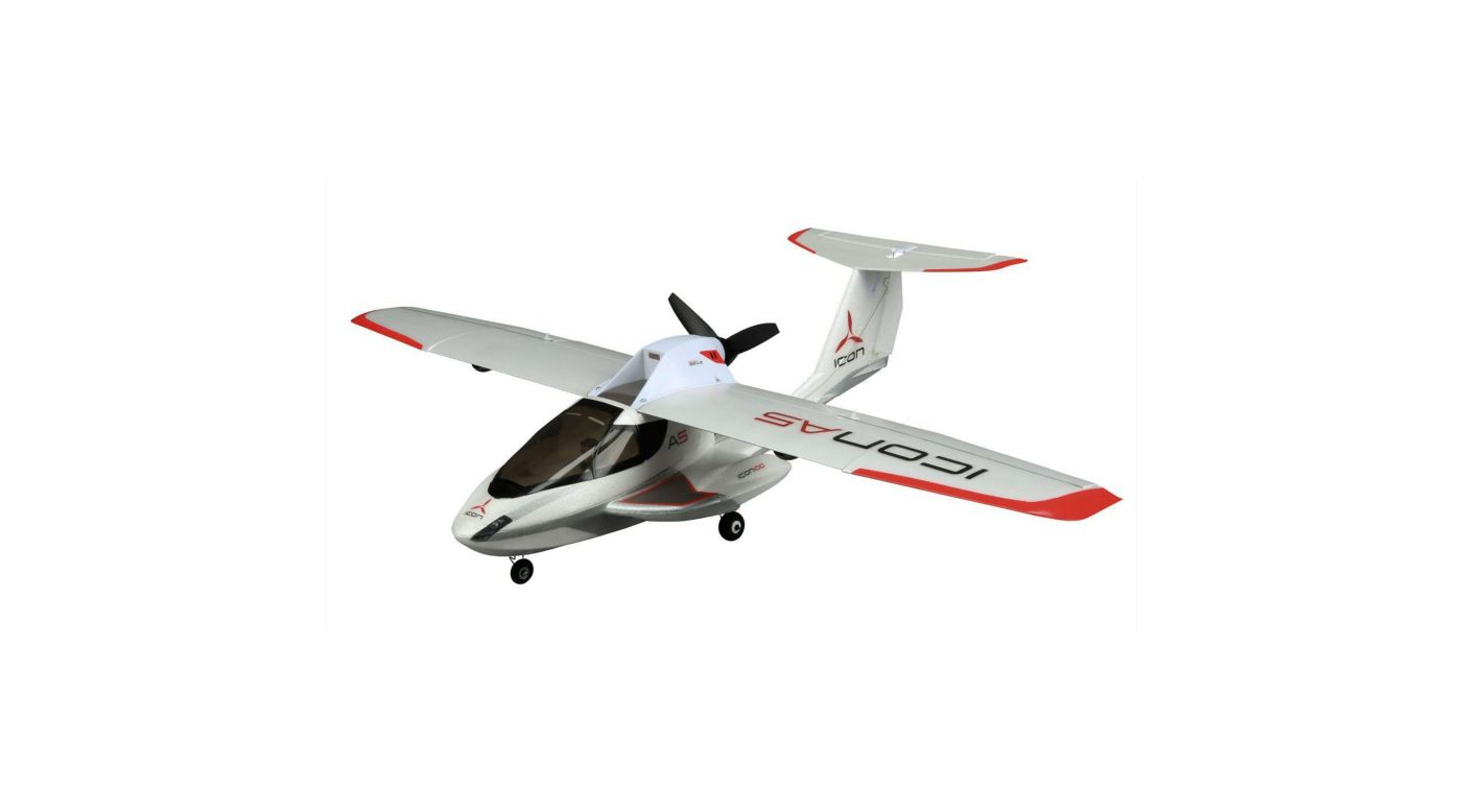 Image for Ultra Micro ICON A5 BNF with AS3X® Technology from HorizonHobby