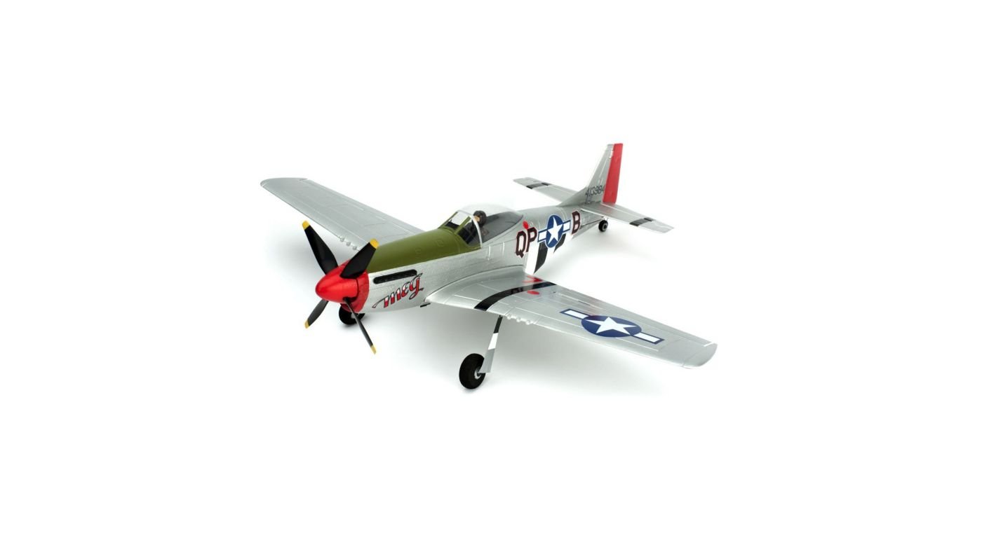 Image for Ultra-Micro P-51D Mustang RTF with AS3X® Technology from HorizonHobby