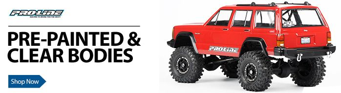 rc car bodies for replacement bodies or customization horizon T-Maxx 2 5 Nitro RC Truck bodies