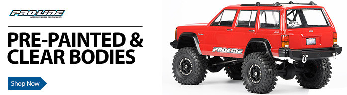 Pro-Line Proline Protoform Lexan Bodies Prepainted Pre-Painted Car Truck Crawler Monster Ford Chevy Chevrolet Dodge Jeep