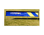 Premier RC - 10' x 1.75' FPV Jump Over Race Gate with Stakes: Horizon Logo
