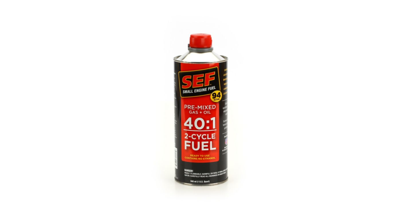 Image for SEF Fuel 40 1 Quart from HorizonHobby