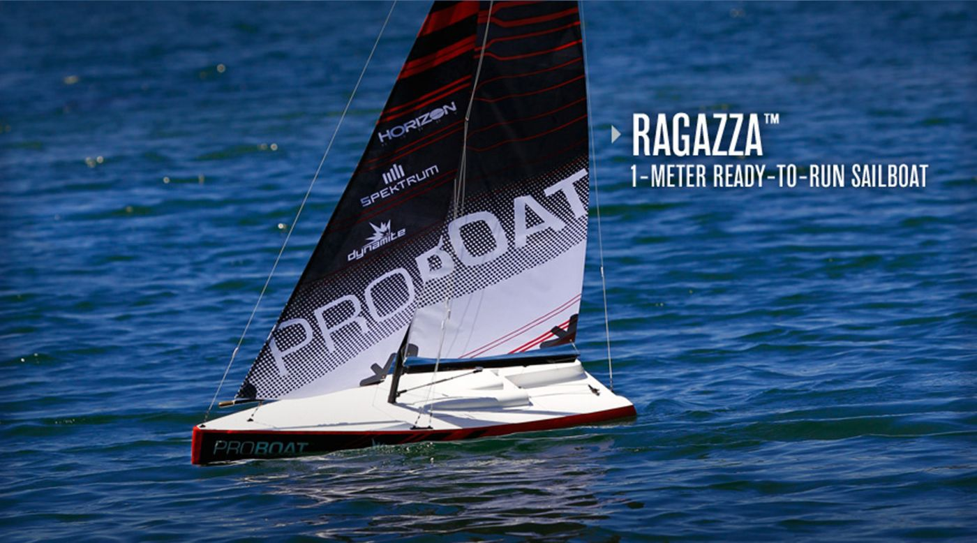 Image for Ragazza 1 Meter Sailboat V2: RTR from HorizonHobby