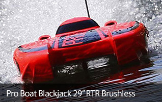 Pro Boat Black Jack Blackjack 21 catamaran Brushless Boat RTR Ready to Run
