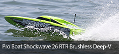 Pro Boat Shockwave 26 Brushless RTR Deep V