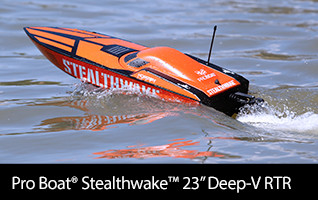 Pro Boat Stealthwake RTR Brushed Deep V
