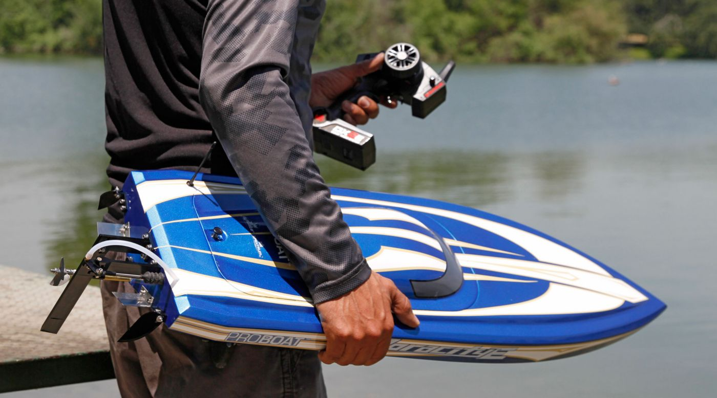 Voracity™ Type E RTR 36-inch Brushless Deep-V RC Boat ...