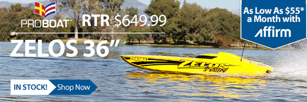 The Pro BoatB. Zelos 36 Twin catamaran comes ready to deliver a double dose of speed.