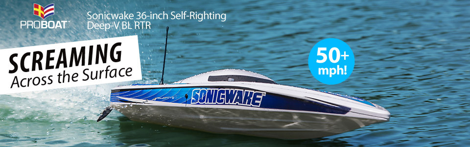 Sonicwake 36-inch Self-Righting Deep-V