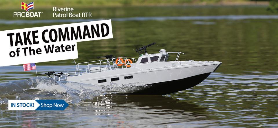 Pro Boat Riverine Patrol Boat 22-inch RTR PRB08035