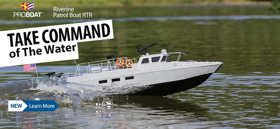 Pro Boat Riverine Patrol Boat 22-inch RTR