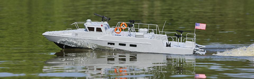 22-inch Riverine Patrol Boat RTR