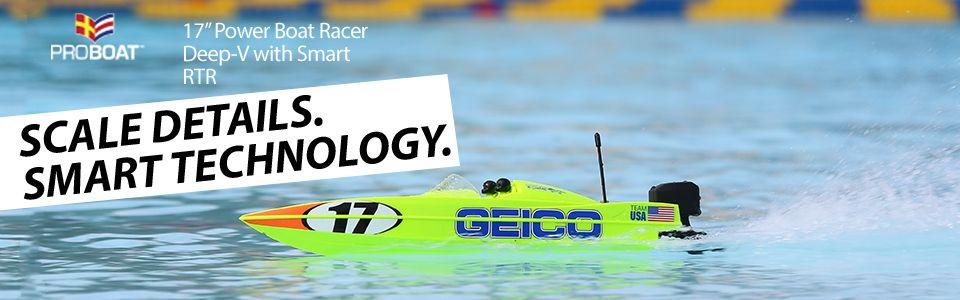 17 Power Boat Racer Deep-V