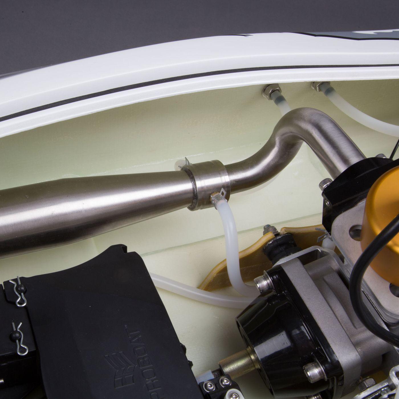 Zelos G 48-inch Catamaran Gas Powered: RTR | Horizon Hobby
