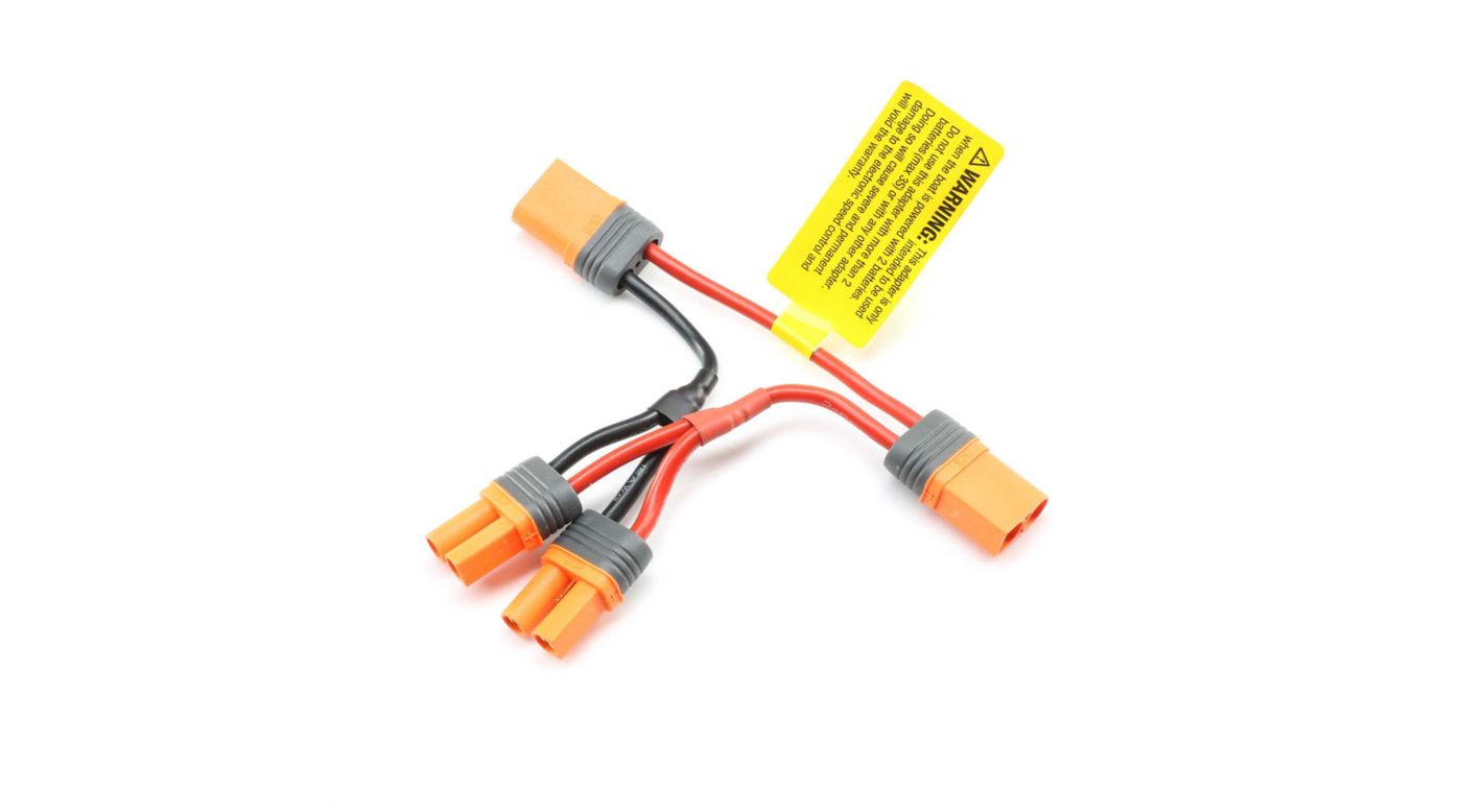 Image for Battery Adapter, EC5: Miss GEICO Zelos 36 from HorizonHobby