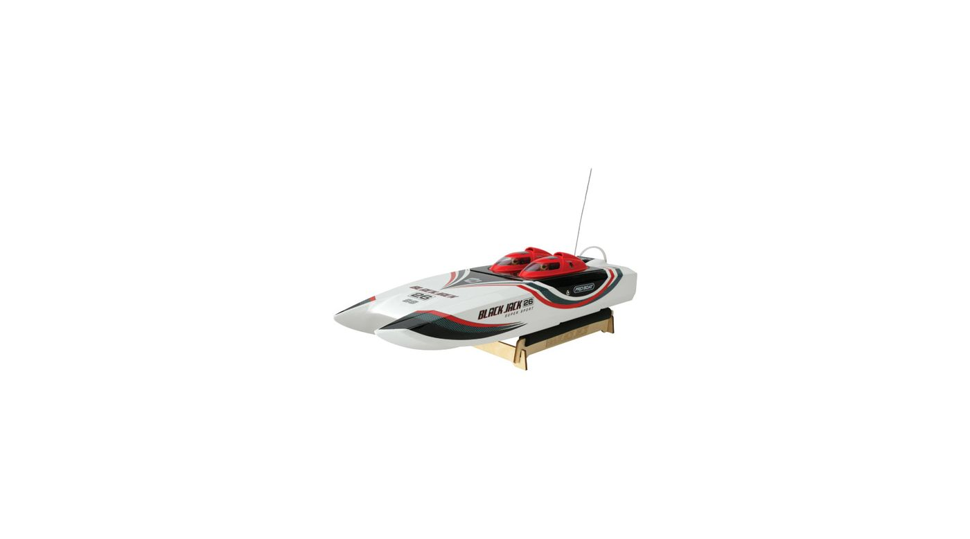 Image for Blackjack 26 SS Nitro Catamaran RTR from HorizonHobby