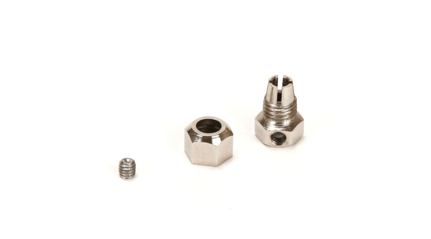 Image for Motor Coupler, 5mm (Motor)/4mm (Flexshaft) from HorizonHobby