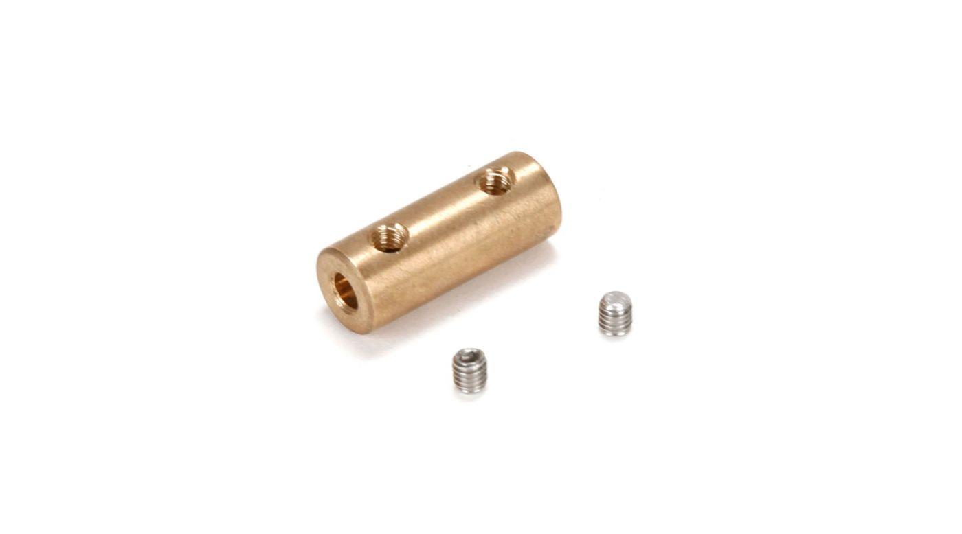 Image for Motor Coupler, 3.3mm (Motor)/3mm (Flexshaft) from HorizonHobby