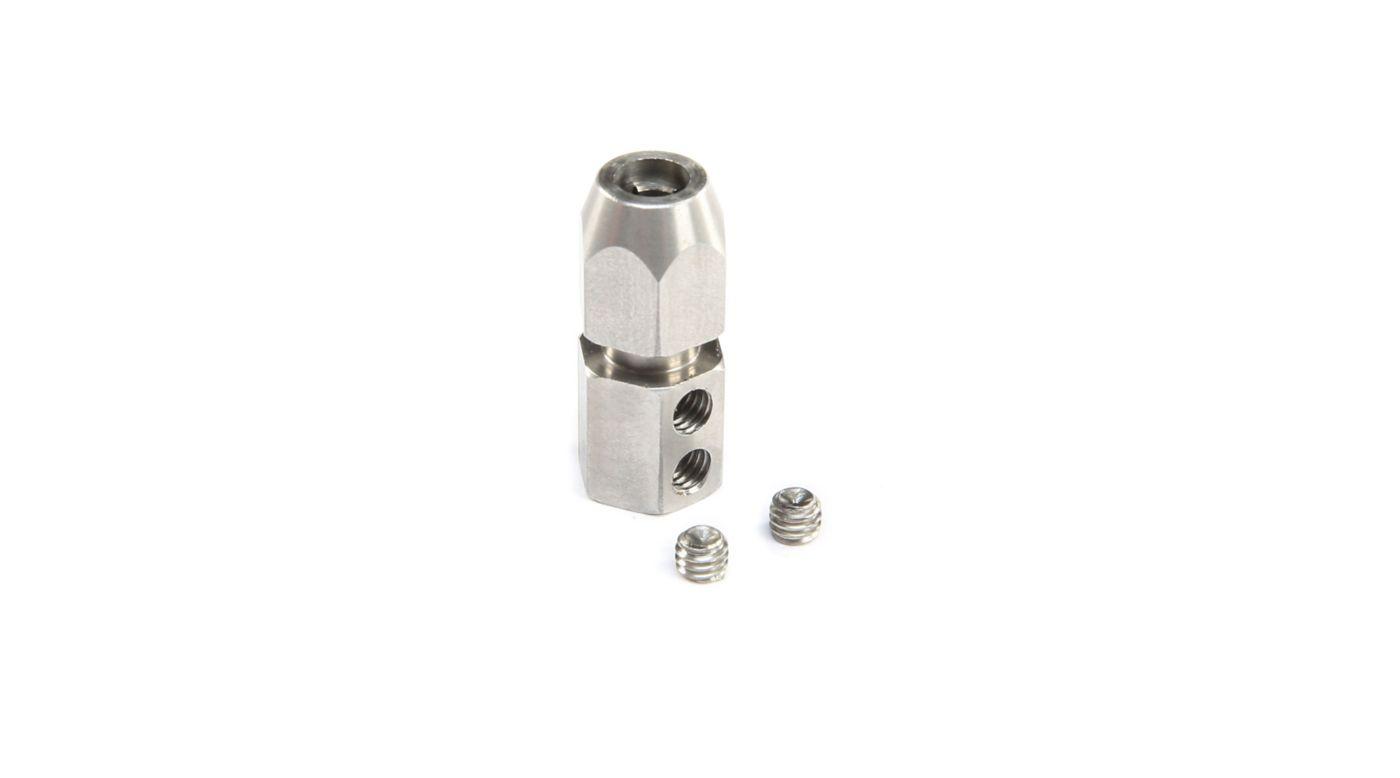 Grafik für Motor Coupler: 5mm (Motor)4.7mm (Flexshaft) in Horizon Hobby