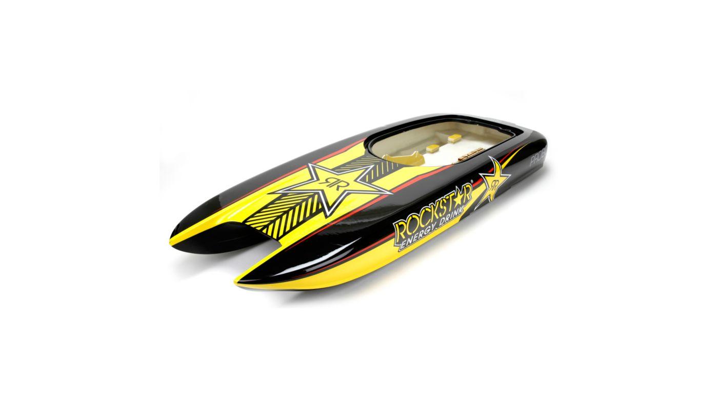 Grafik für Pro Boat Rumpf u. Dekorbogen: Rockstar 48 in Horizon Hobby