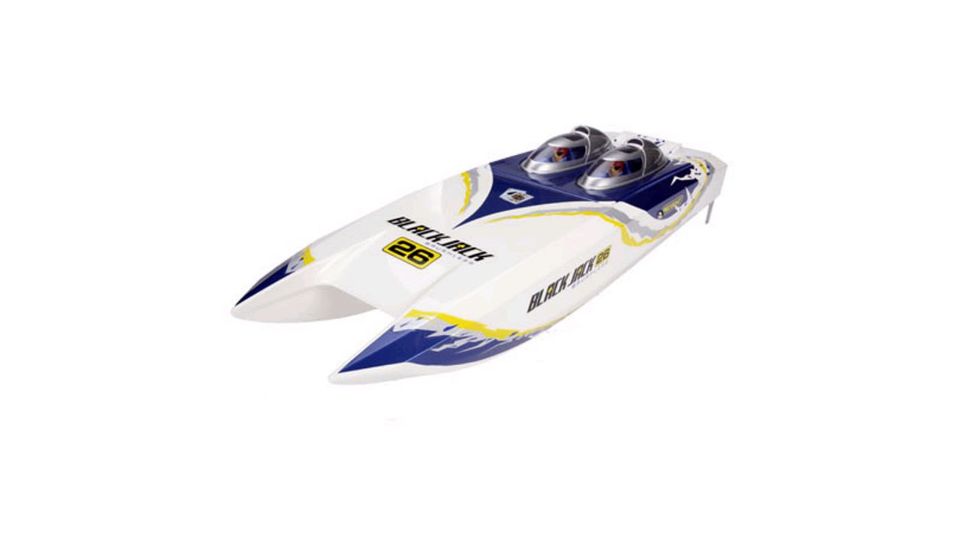 Image for Blackjack 26 SS BL Catamaran 2.4 RTR from HorizonHobby