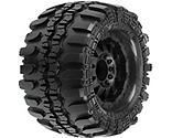 Pro-line Racing - Super Swamper 3.8 TRA Bead, F11 Black 1/2 Offset 17mm