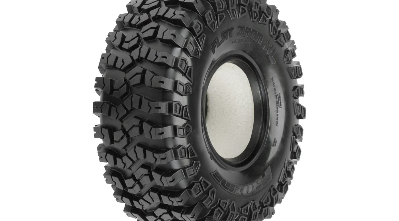 Image for Flat Iron 1.9XL G8 Rock Terrain Truck Tire with Foam from HorizonHobby