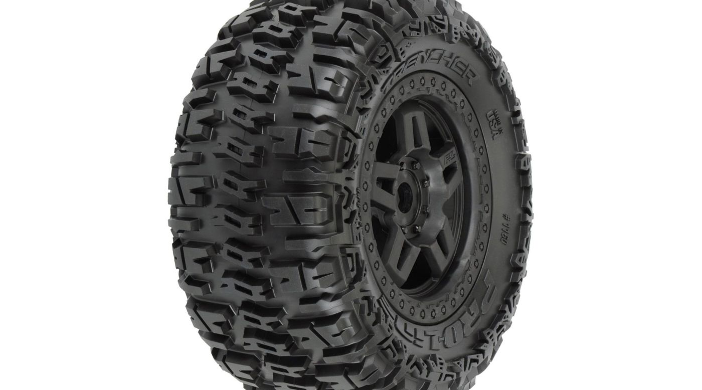 Image for Trencher 3.8 All Terrain Mnt Tech 5 Blk Whl: TMX from HorizonHobby