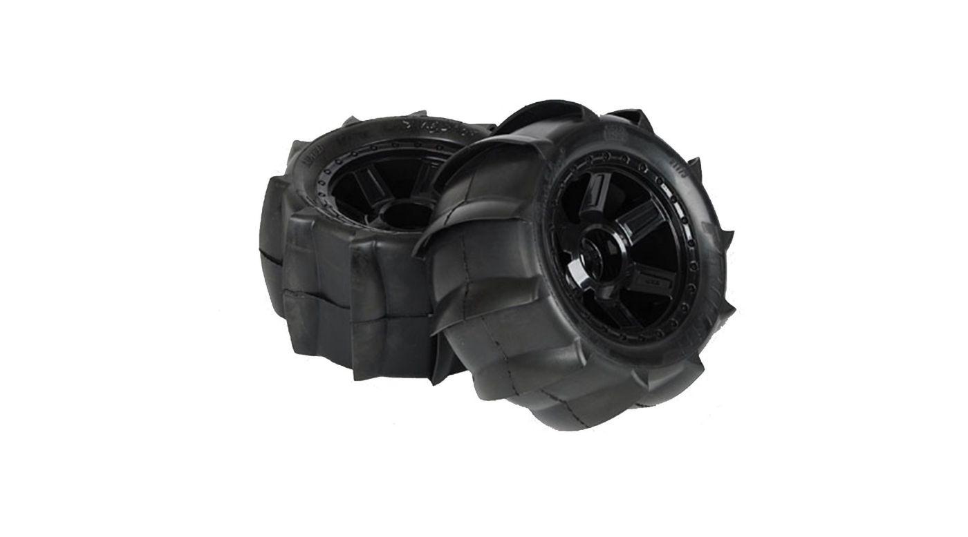 Image for Sling Shot 3.8 Sand Tires, Desperado Wheel, Pre-Mounted from HorizonHobby