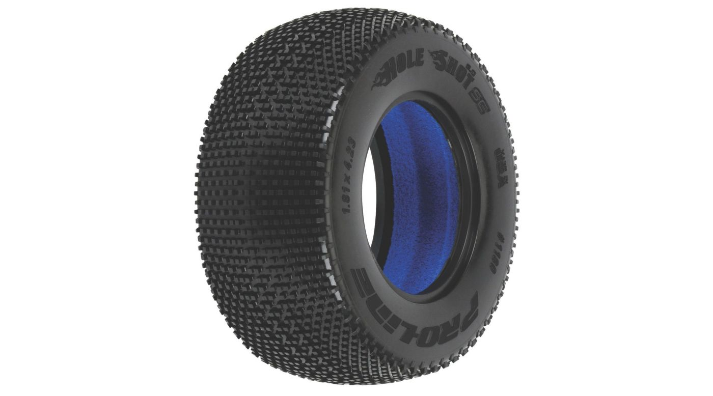Image for Hole Shot 2.0 SC M3 Tire (2): SLH, SC10, Blitz from HorizonHobby