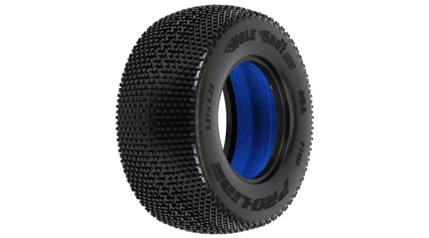 Image for Hole Shot 2.0 SC M4 Tire (2): SLH, SC10, Blitz from HorizonHobby