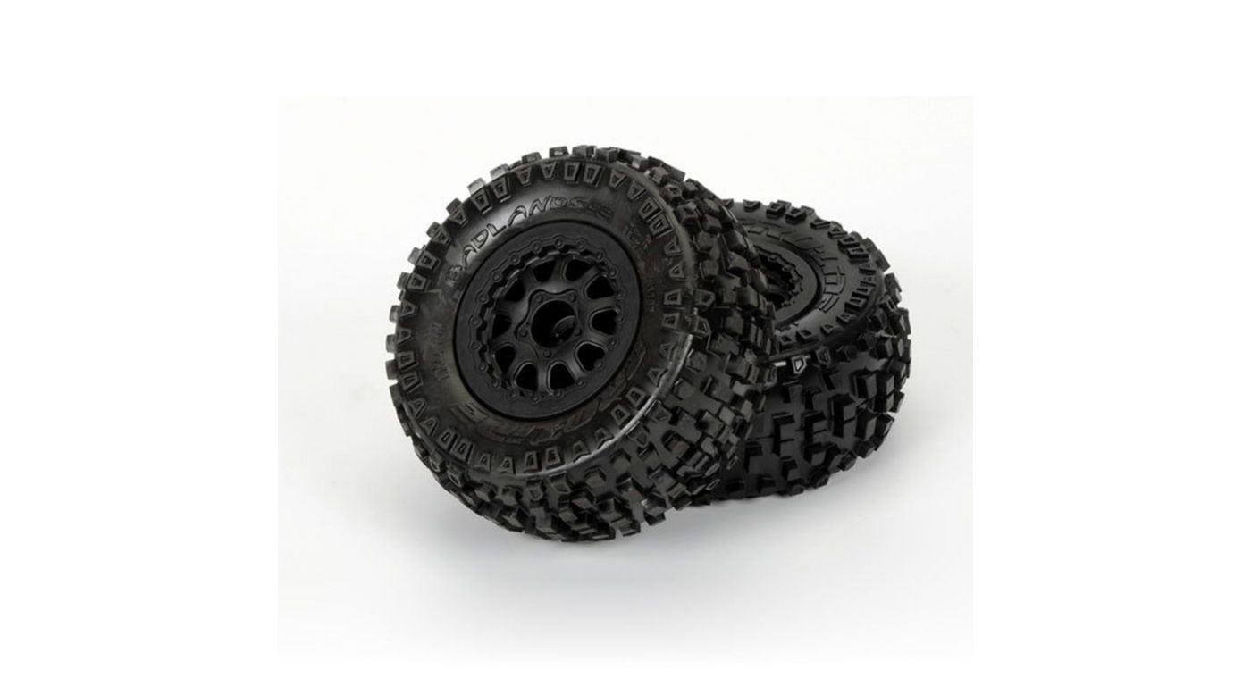 Image for Badlands SC 2.2/3.0 M2 Renegade Black Wheel: SLH from HorizonHobby