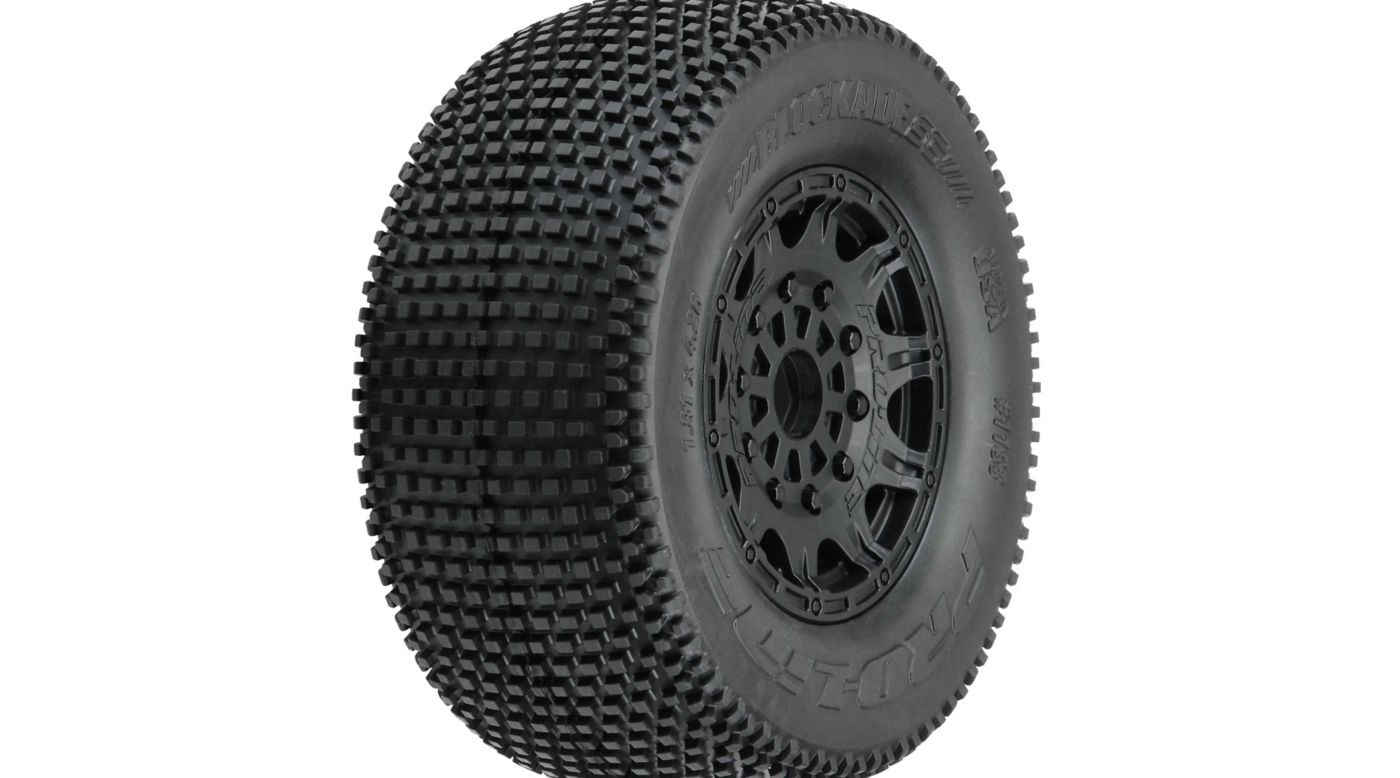 Image for Blockade SC M3 Tires MTD Raid 17mm F/R from HorizonHobby