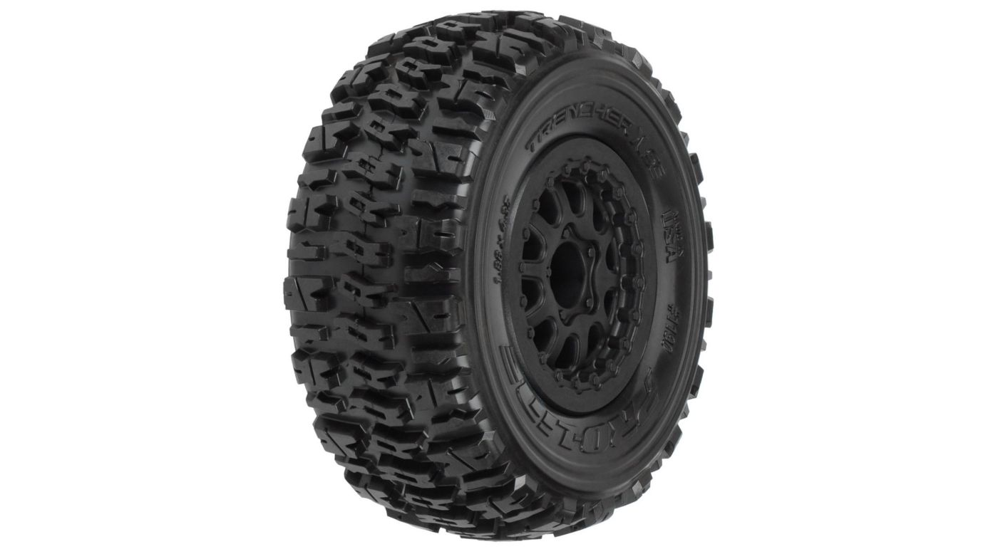 Image for Trencher X SC 2.2/3.0 M2 Renegade Black Wheel: SLH (2) from HorizonHobby