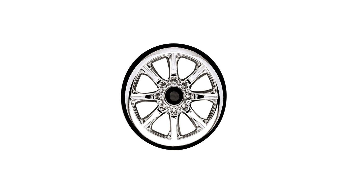 Image for Front Agitator Wheel, Chrome (2): Jato, NST, NRU from HorizonHobby