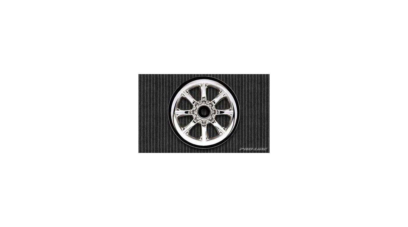 Image for Rear Agitator Wheel, Chrome (2): Jato, NST, NRU from HorizonHobby