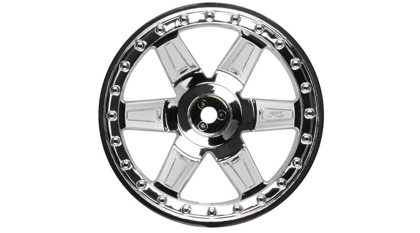 Image for Fr Desperado 2.8 TRA Chrome Wheel: ST, RU from HorizonHobby