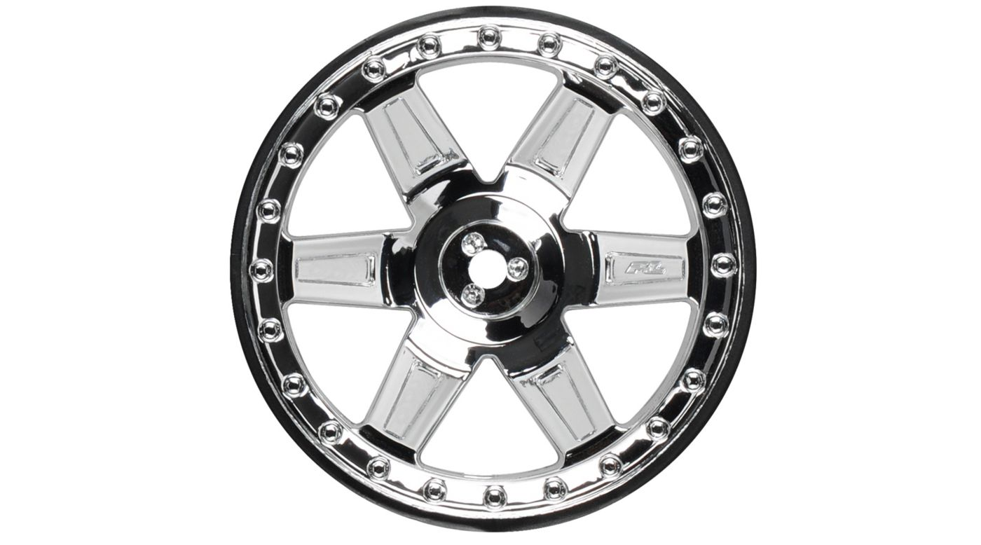 Image for R Desperado 2.8 TRA Chrome Wheel: ST, RU from HorizonHobby