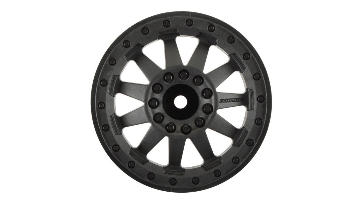Image for F11 2.8 TRA Bead Black Wheel (2): ST4x4, NST, NRU from HorizonHobby