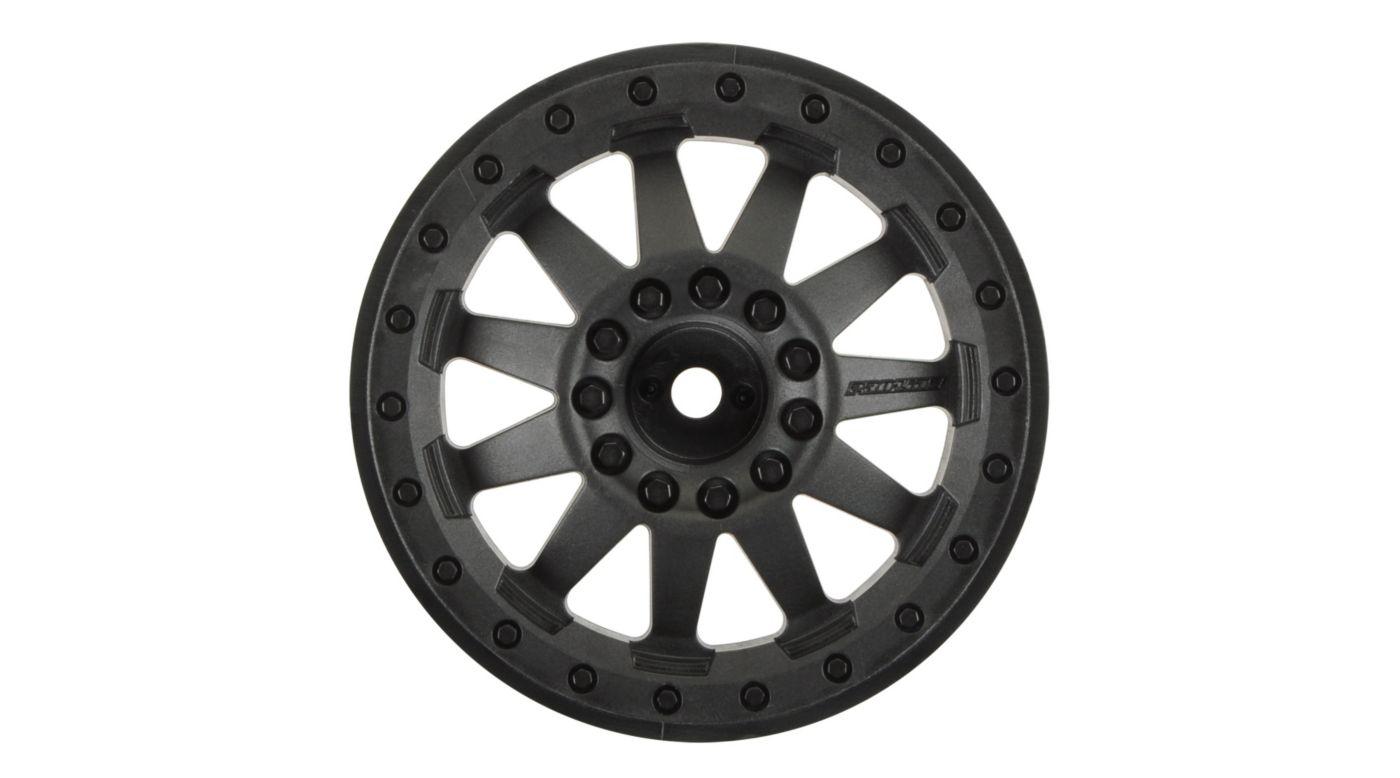 Image for Rear F11 2.8 TRA Bead, Black Wheel (2): ST, RU from HorizonHobby