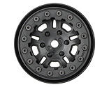 Pro-line Racing - FaultLine 1.9 Black Bead-Loc 10 Spoke Front/Rear Wheel: Crawl