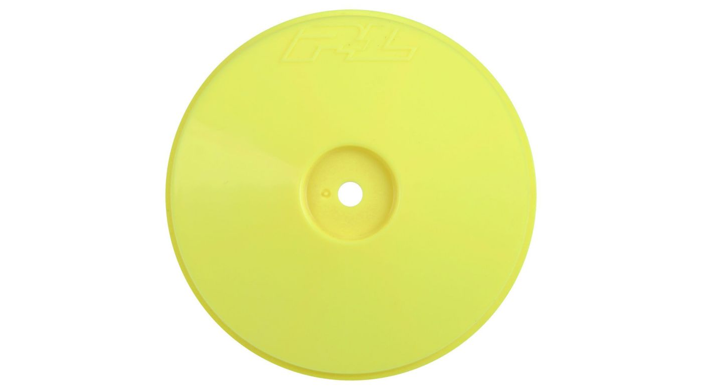Image for Velocity VTR 2.4 4WD Hex Front Yellow Wheel: Losi 22-4 from HorizonHobby