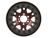 Pro-line Racing - Pro-Forge 1.9 Bronze, Aluminum, Black, Bead-Loc, Front/Rear Wheels (2
