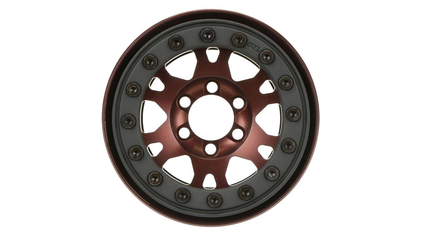 Image for Pro-Forge 1.9 Bronze, Aluminum, Black, Bead-Loc, Front/Rear Wheels (2 from HorizonHobby