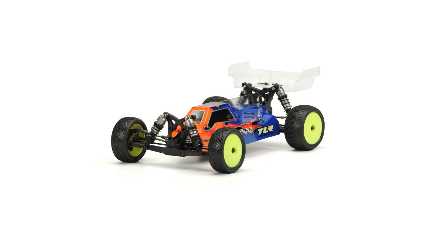 Image for Pre-Cut Phantom Clear Body: TLR 22-4 Buggy from HorizonHobby