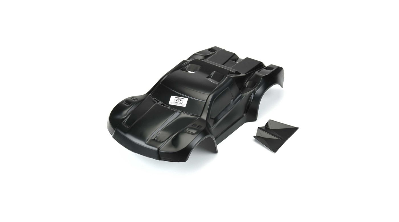 Image for Pre Painted, Flo-Tek Pre-Cut Fusion 1/10 Scale Body, Black SC from HorizonHobby
