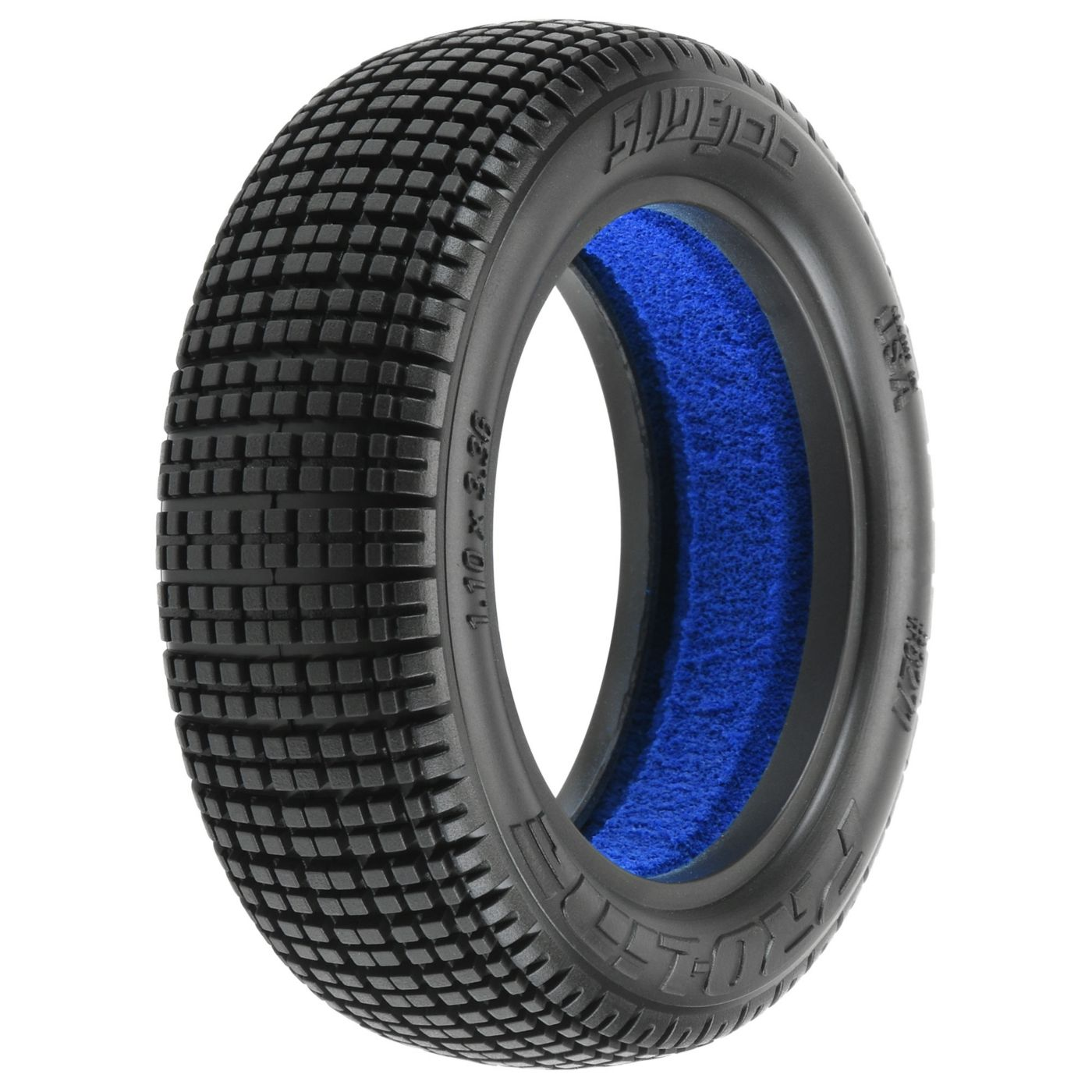 Slide Job 2.2 2WD M3 Buggy Front Tire (2)  (PRO827102)