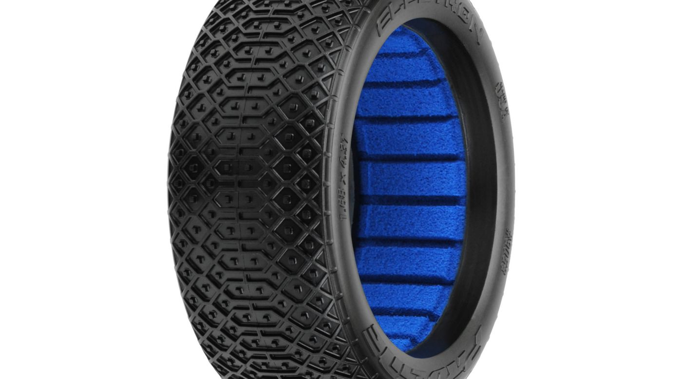 Image for 1/8 Electron MC, Clay: Off-Road Buggy Tires from HorizonHobby