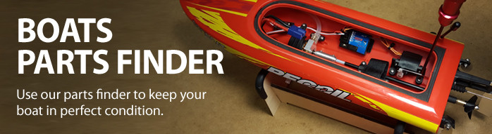RC Boat Parts Finder Radio Control