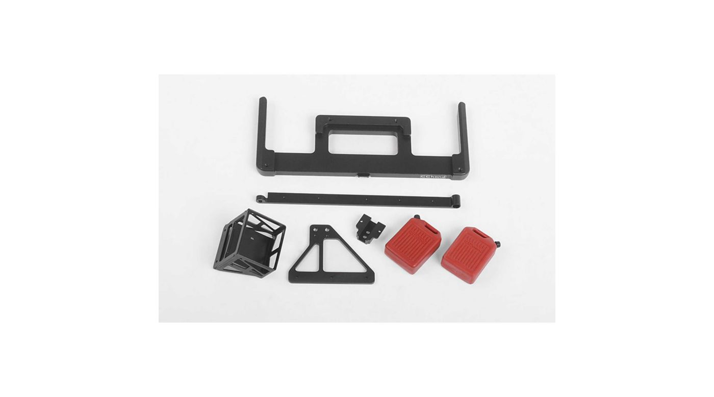 Image for Velbloud Rear Bumper (Acc. A): 1985 Toyota 4Runner Hard Body from HorizonHobby